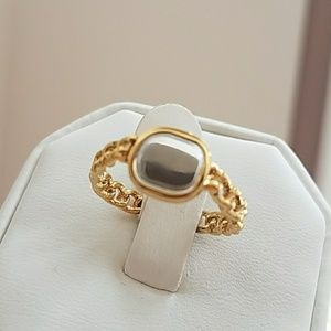 Jewelry - Gold Plated Chain Ring size 9